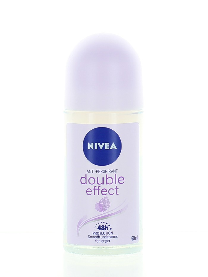 Nivea Roll-on 50 ml femei Double Effect imagine produs