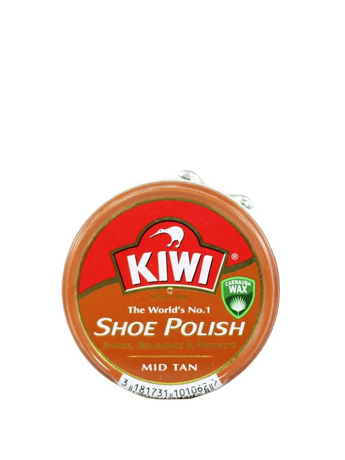 Kiwi Crema pantofi rotunda fara burete 50 ml Marron Clair