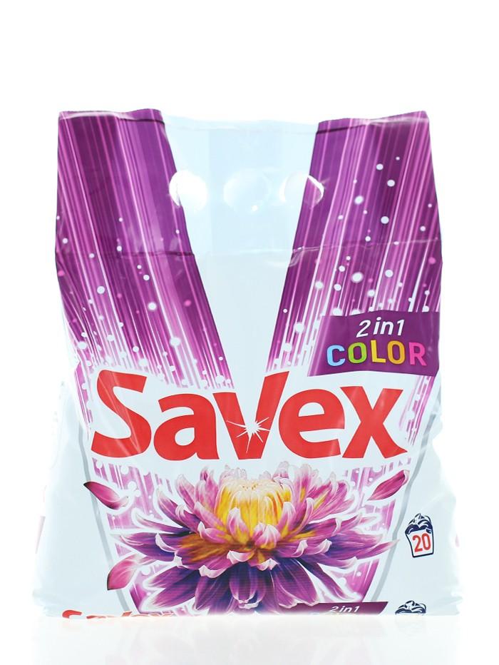 Savex Detergent automat 2 kg 20 spalari 2in1 Color imagine produs