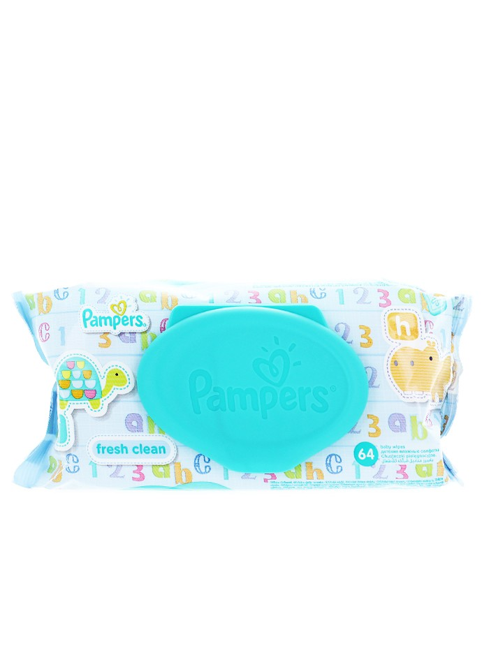 Pampers Servetele umede 64 buc Fresh Clean cu capac imagine produs
