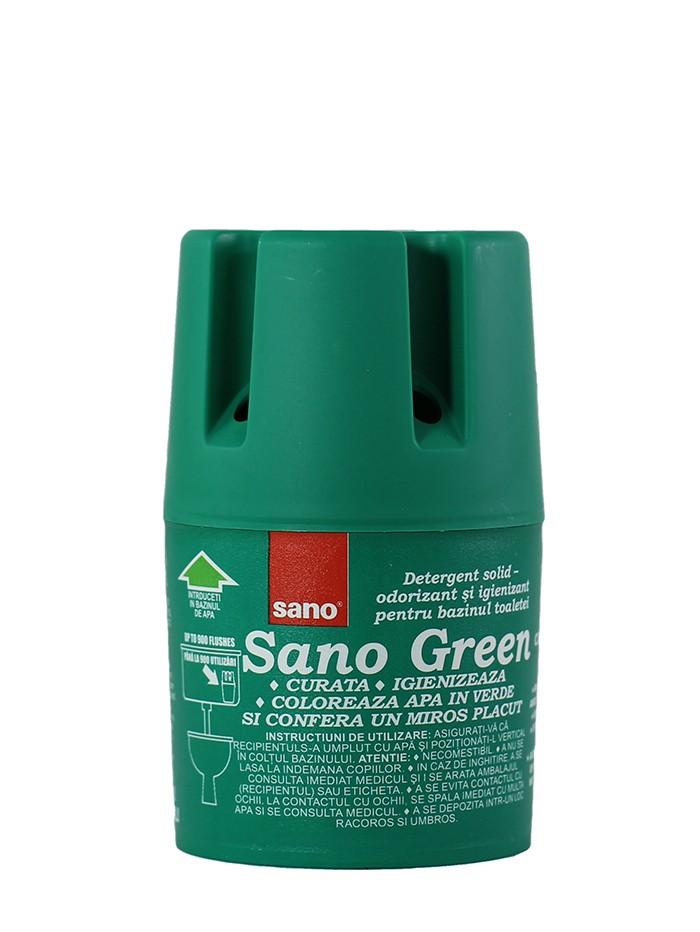 Sano Odorizant wc pentru bazin 150 g Green imagine produs
