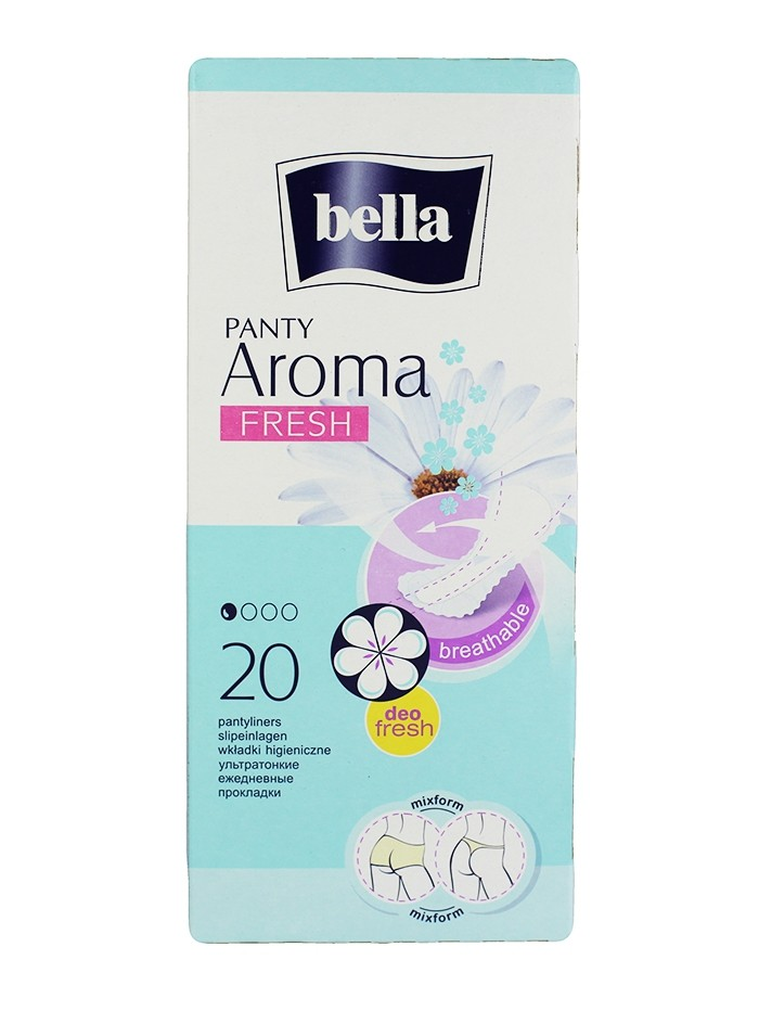 Bella Absorbante subtiri zilnice 20 buc Aroma Fresh imagine