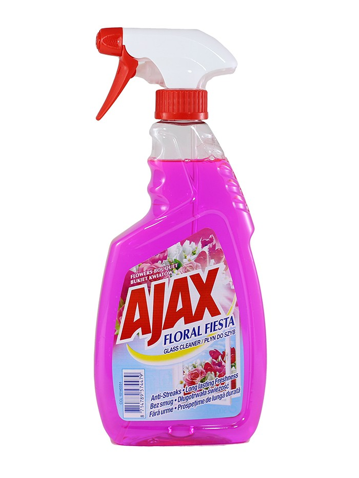 Ajax Solutie curatat geamuri 500 ml Flowers Bouquet imagine produs
