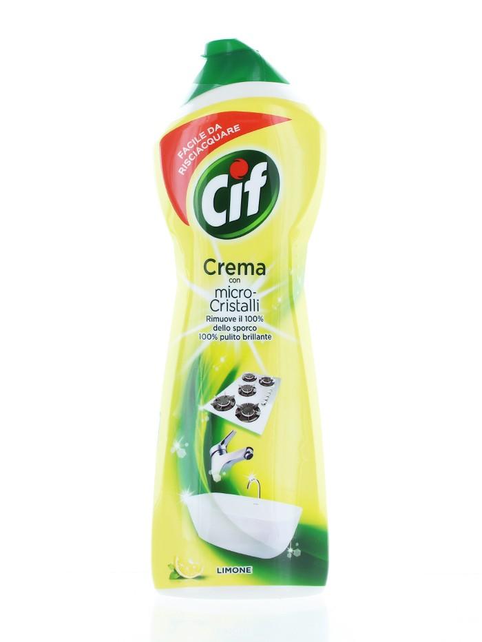 Cif Crema abraziva 750 ml Lemon imagine produs