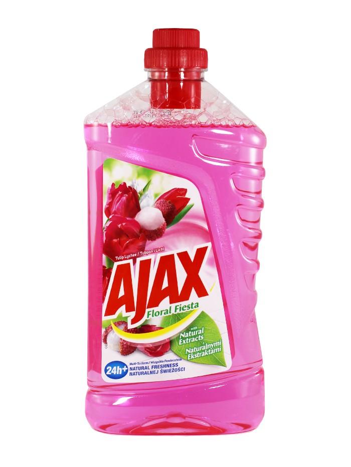 Ajax Detergent Pardoseli 1L Tulip Lychee imagine produs