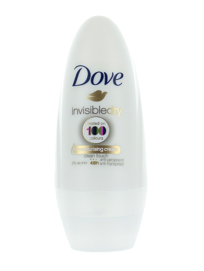 Dove Roll-on 50 ml Invisible dry imagine produs