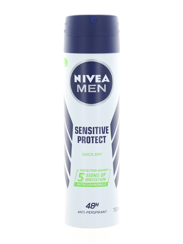 Nivea Spray deodorant barbati 150 ml Sensitive Protect imagine produs