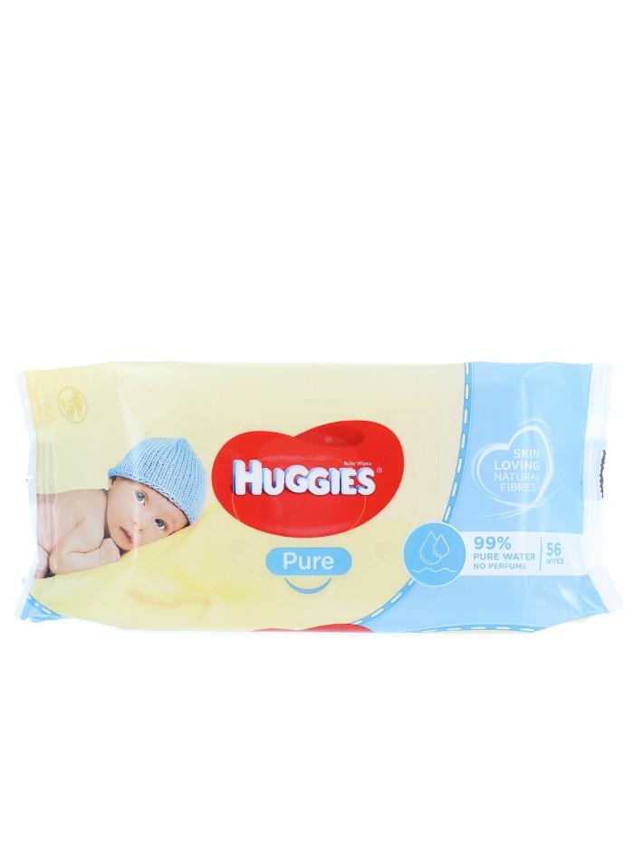 Huggies Servetele umede 56 buc Pure imagine produs