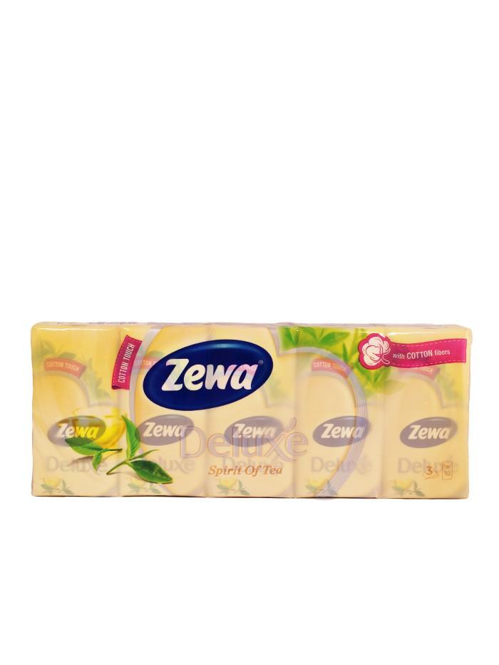 Zewa Batista de hartie 3 straturi 10x10 buc Deluxe Spirit Of Tea imagine produs