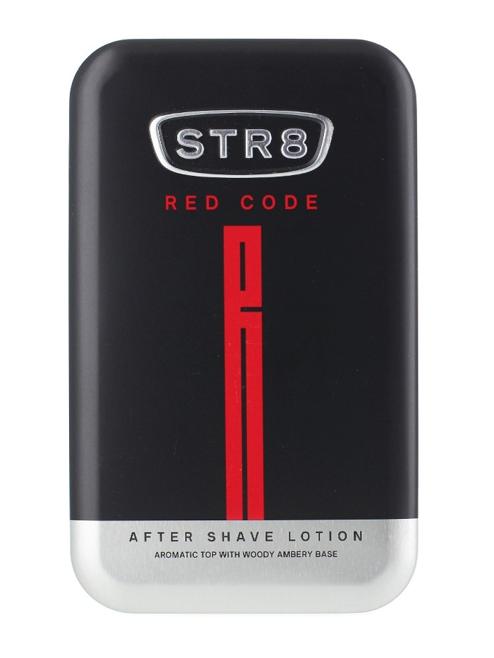 STR8 After Shave in cutie metalica 100 ml Red Code imagine produs