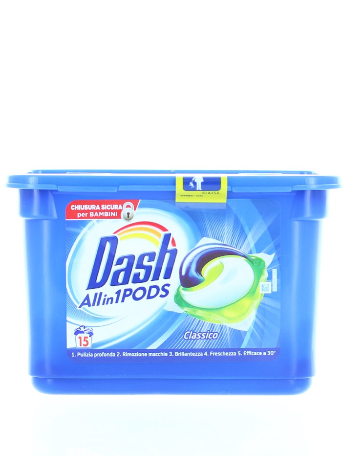 Dash Detergent Capsule 15 buc All in1 Regular imagine produs