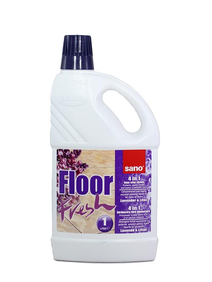 Sano Detergent pardoseli 1 L Lavanda & Liliac imagine produs