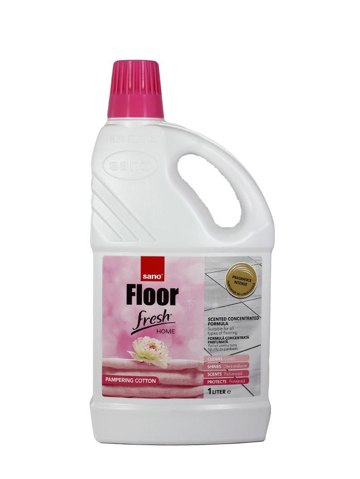 Sano Detergent pardoseli 1 L Pampering Cotton imagine produs