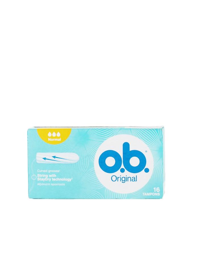 O.B. Tampoane Original 16 buc Normal imagine