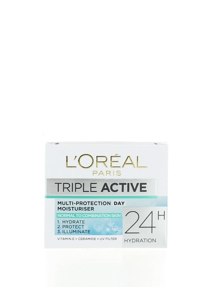 L'oreal Crema de fata hidratanta 50 ml Triple Active Normal imagine produs