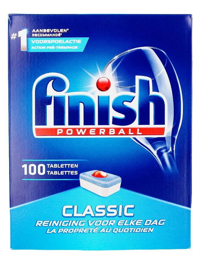 Finish Tablete pentru masina de spalat vase 100 buc Classic imagine produs