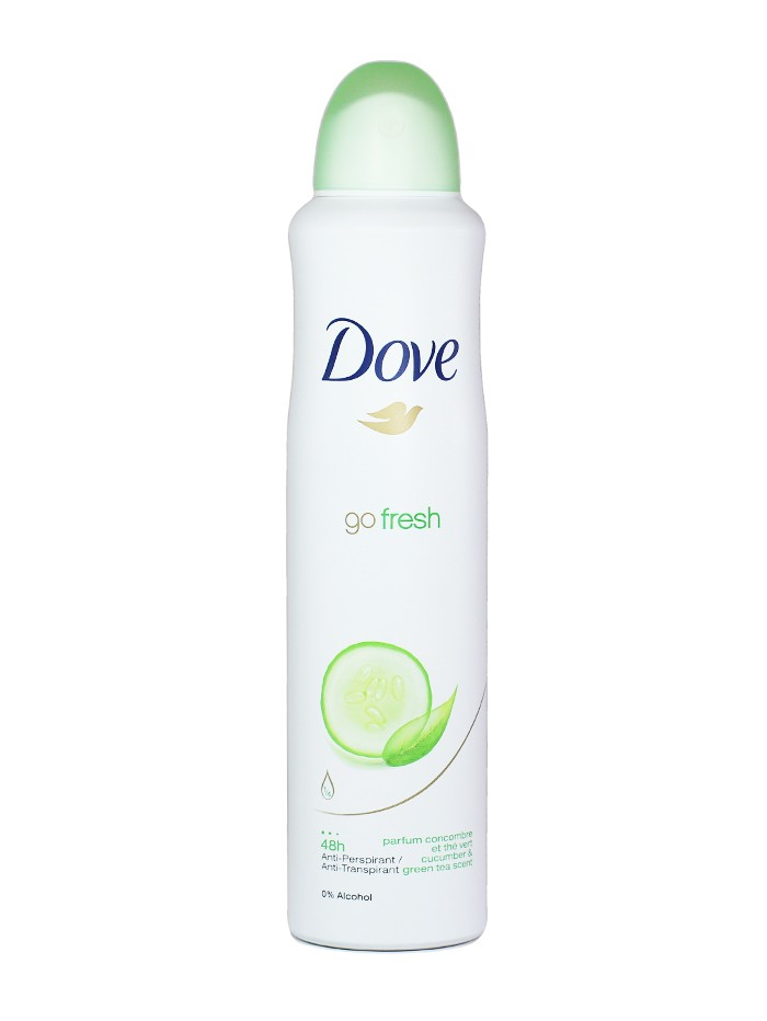Dove Spray deodorant femei 250 ml Go fresh Castraveti imagine produs