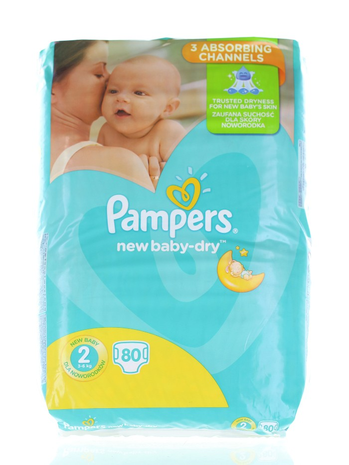 Pampers New Baby nr.2 Mini 3-6 kg 80 buc imagine produs