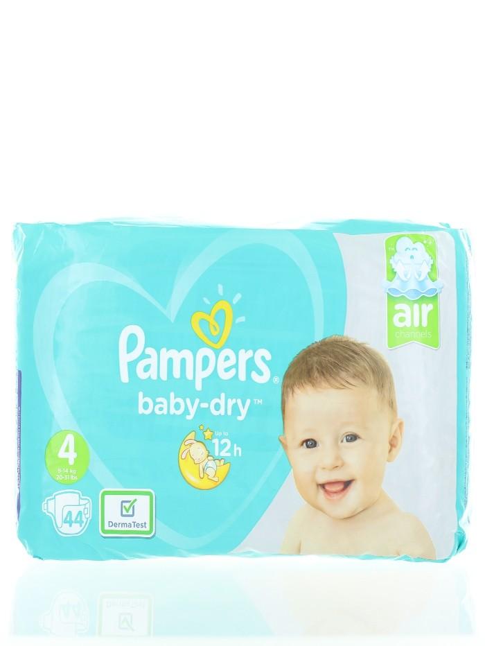 Pampers Scutece Nr. 4 9-14 kg 44 buc Baby-Dry imagine produs