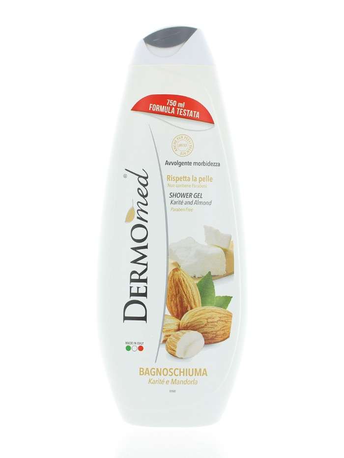 Dermomed Gel de dus 750 ml Mandorla imagine produs