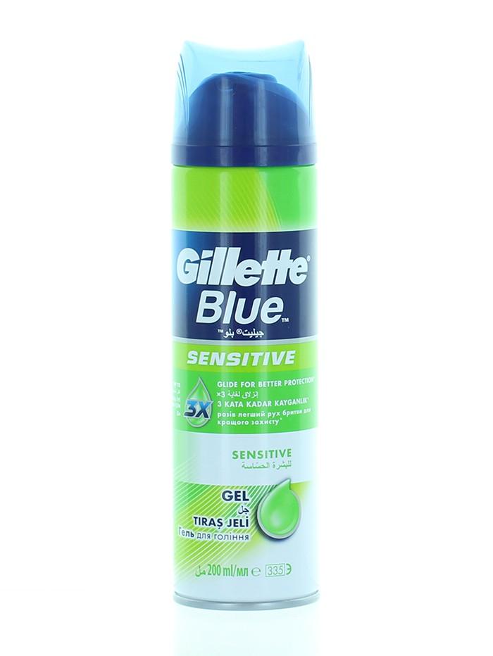 Gillette Gel de ras 200 ml Blue Sensitive imagine produs
