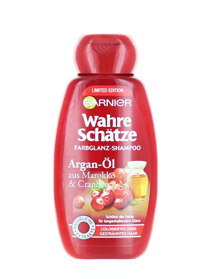 Garnier Sampon Wahre Schatze 250 ml Cranberry&Argan imagine produs