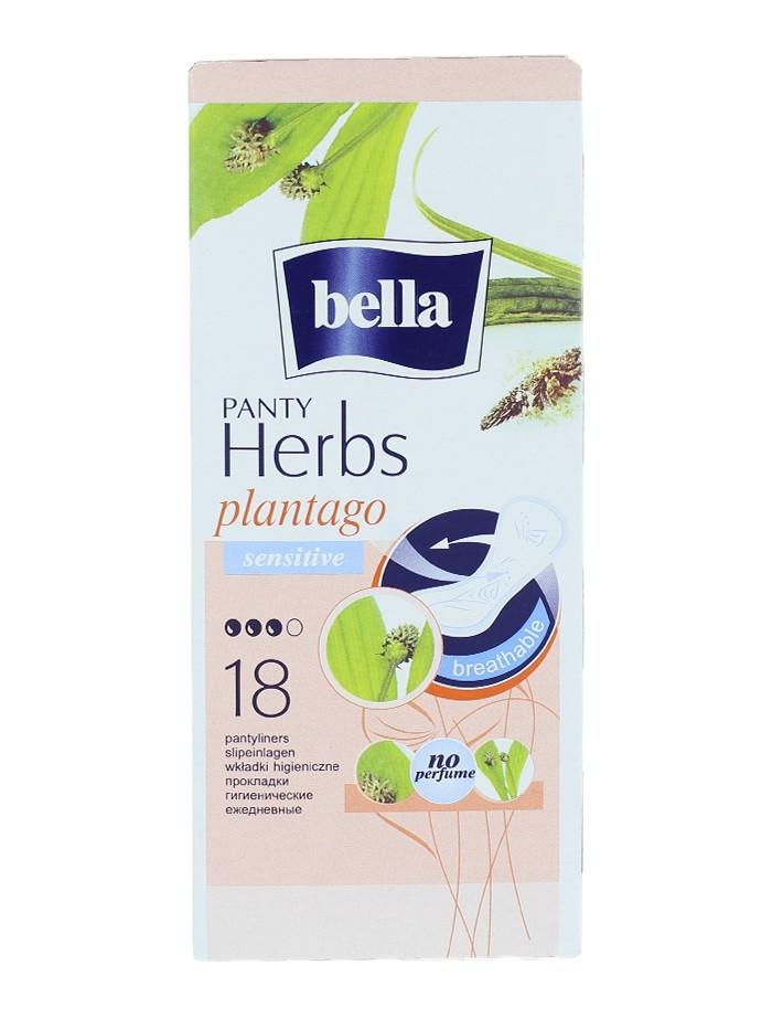 Bella Absorbante subtiri zilnice 18 buc Panty Herbs Plantago imagine produs