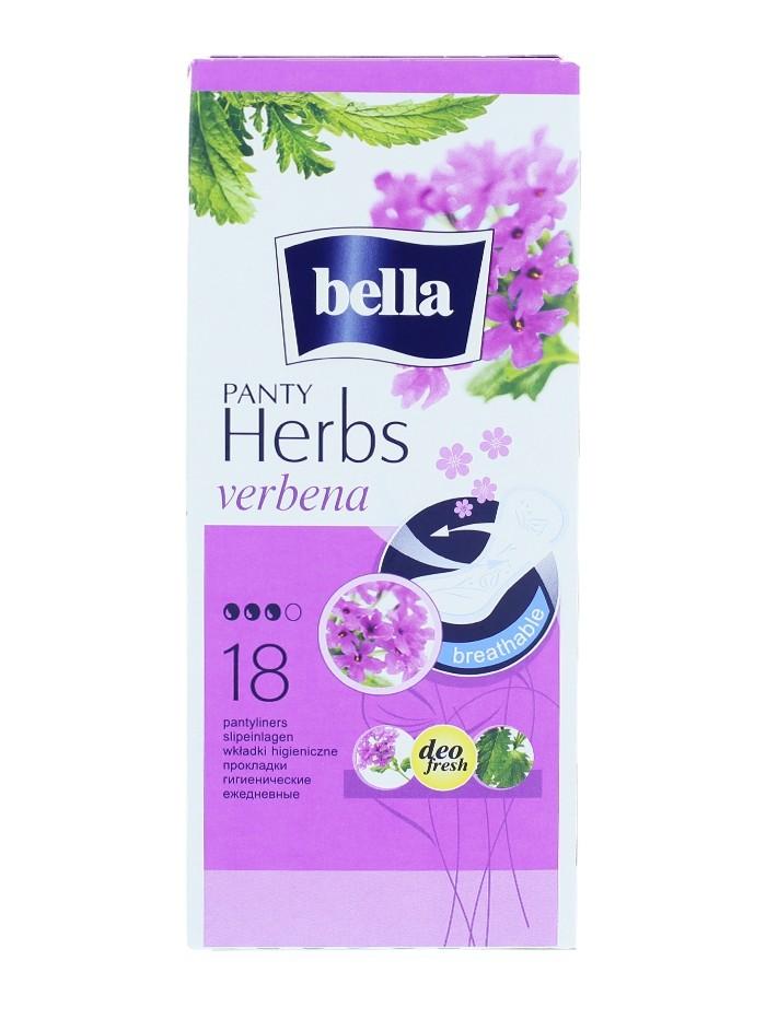 Bella Absorbante subtiri zilnice 18 buc Panty Herbs Verbena imagine