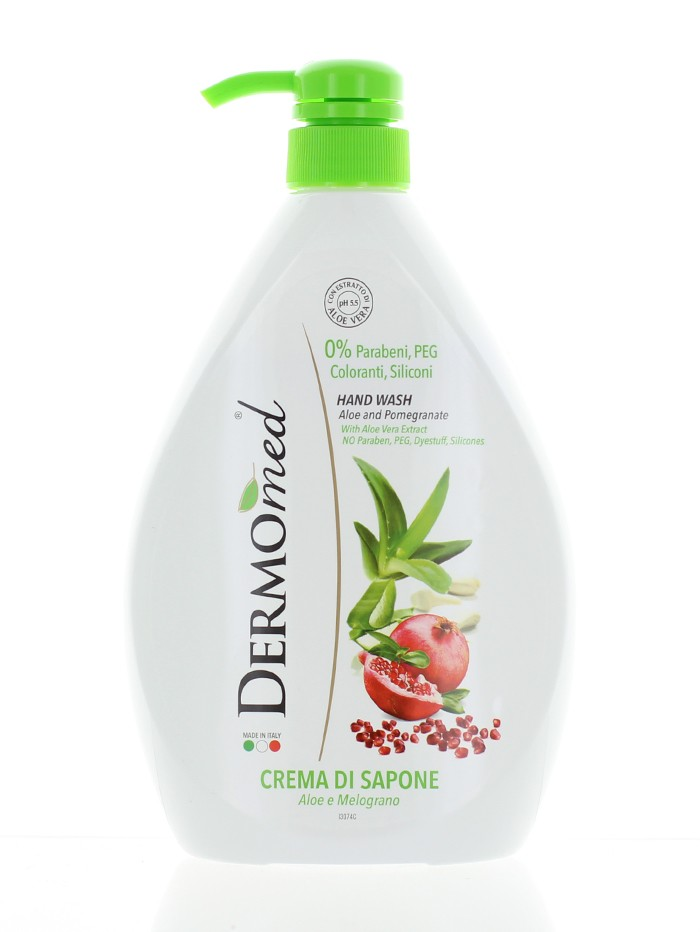 Dermomed Sapun lichid 1l Aloe & Pomegranate imagine