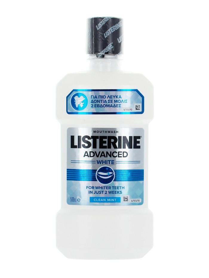 Listerine Apa de gura 500 ml Advanced White imagine produs
