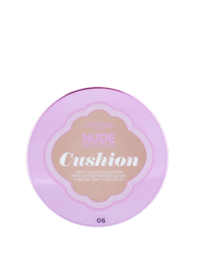L'oreal Fond de ten Nude Magique Cushion 14.6g Nr:06 Rose Beige