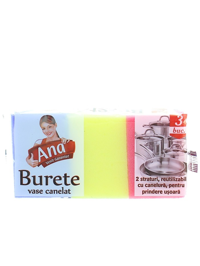 Anna Burete de vase canelat 3 buc imagine produs