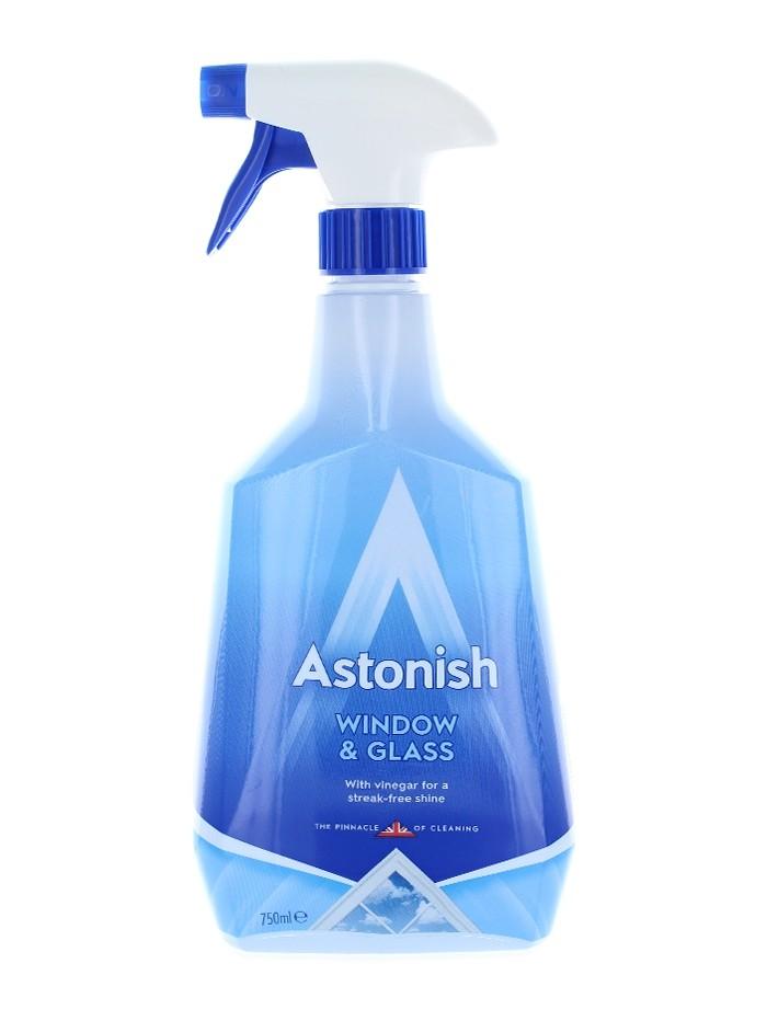 Astonish Solutie curatat geamuri cu pompa 750 ml imagine produs