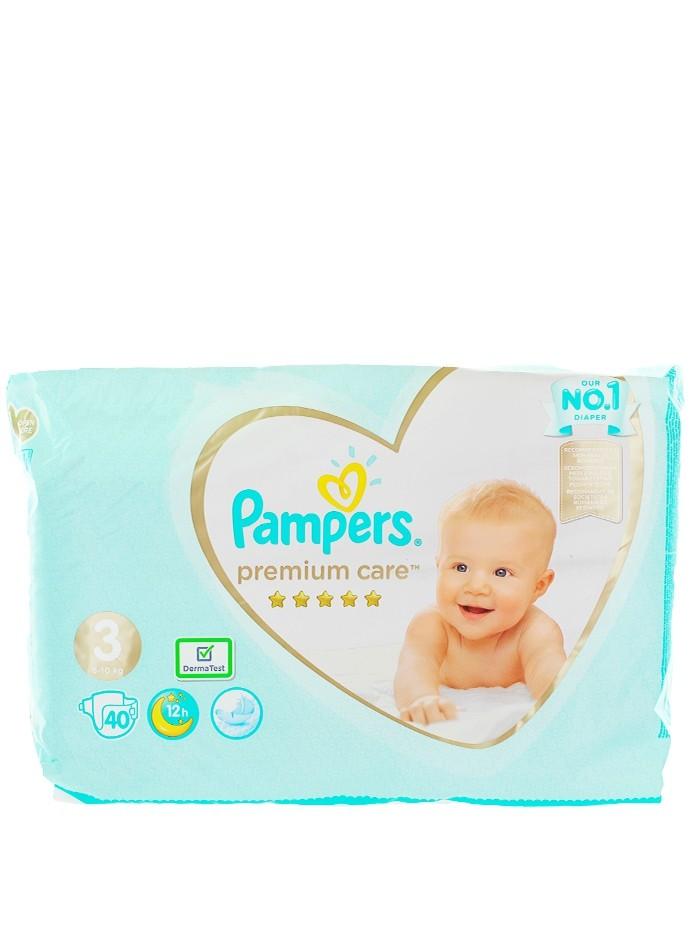 Pampers scutece nr. 3 6-10 kg 40 buc Premium Care imagine produs