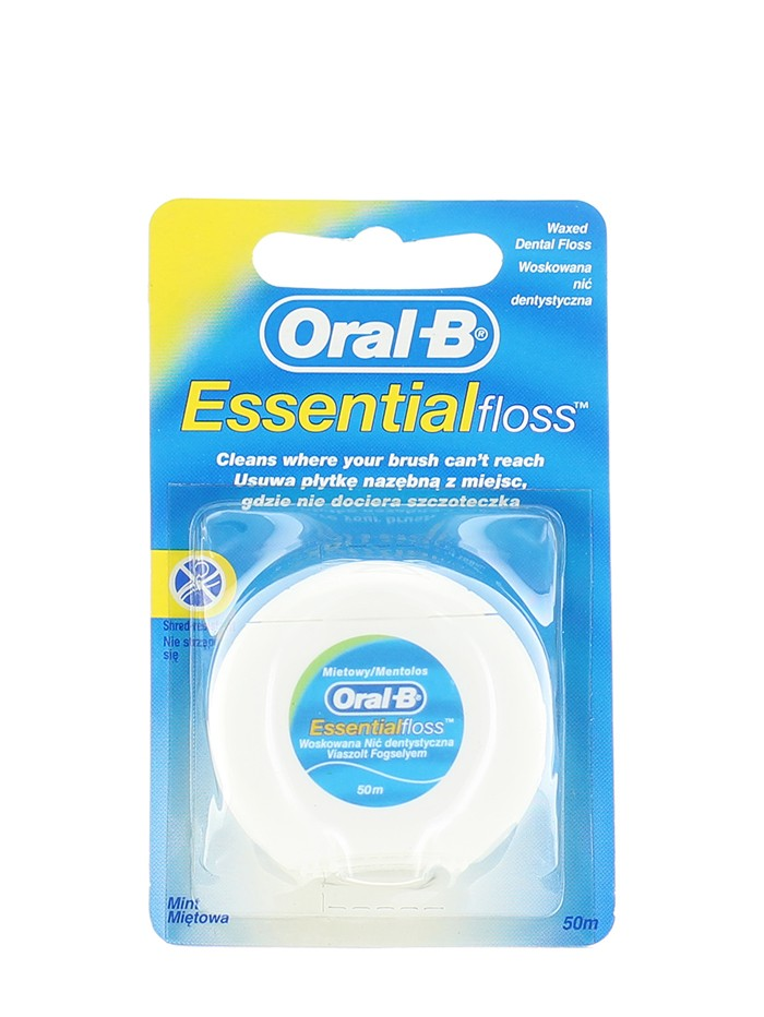 Oral-B Ata dentara 50m Essential Floss imagine