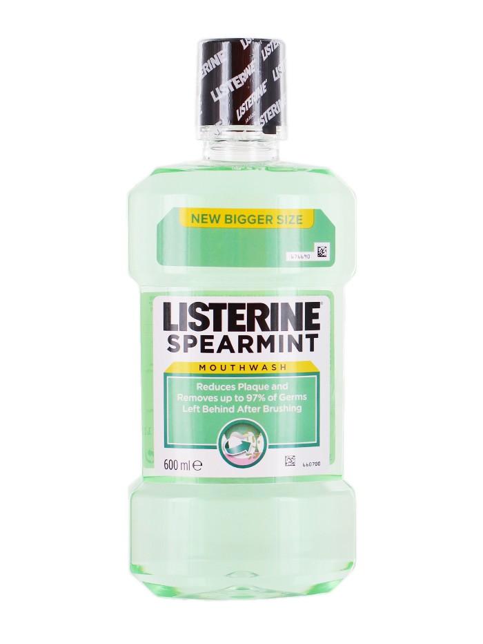 Listerine Apa de gura 600 ml Spearmint imagine produs