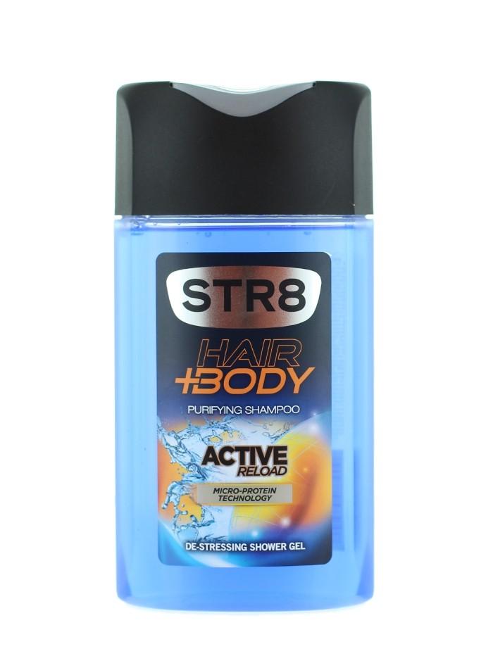 STR8 Gel de dus 250 ml Active Reload imagine produs