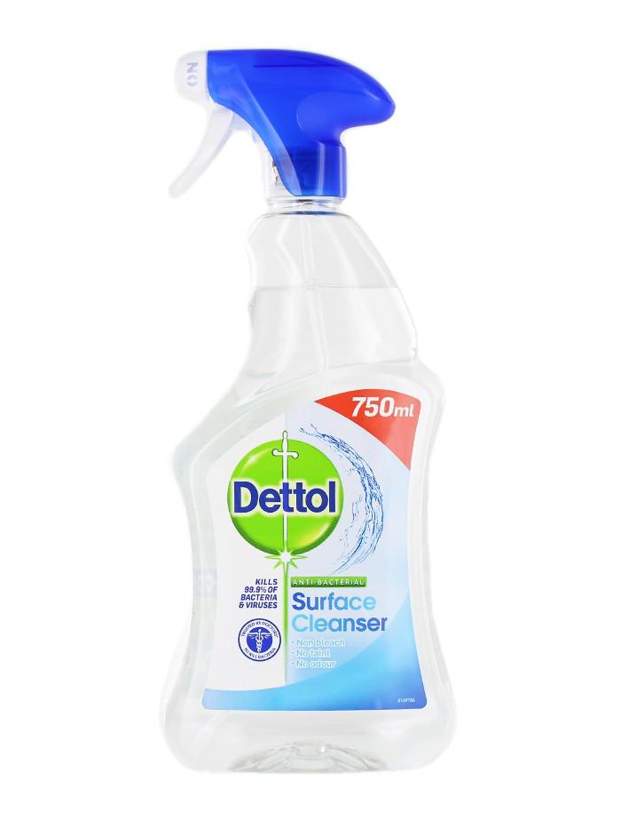 Dettol Solutie dezinfectat suprafete cu pompa 750 ml