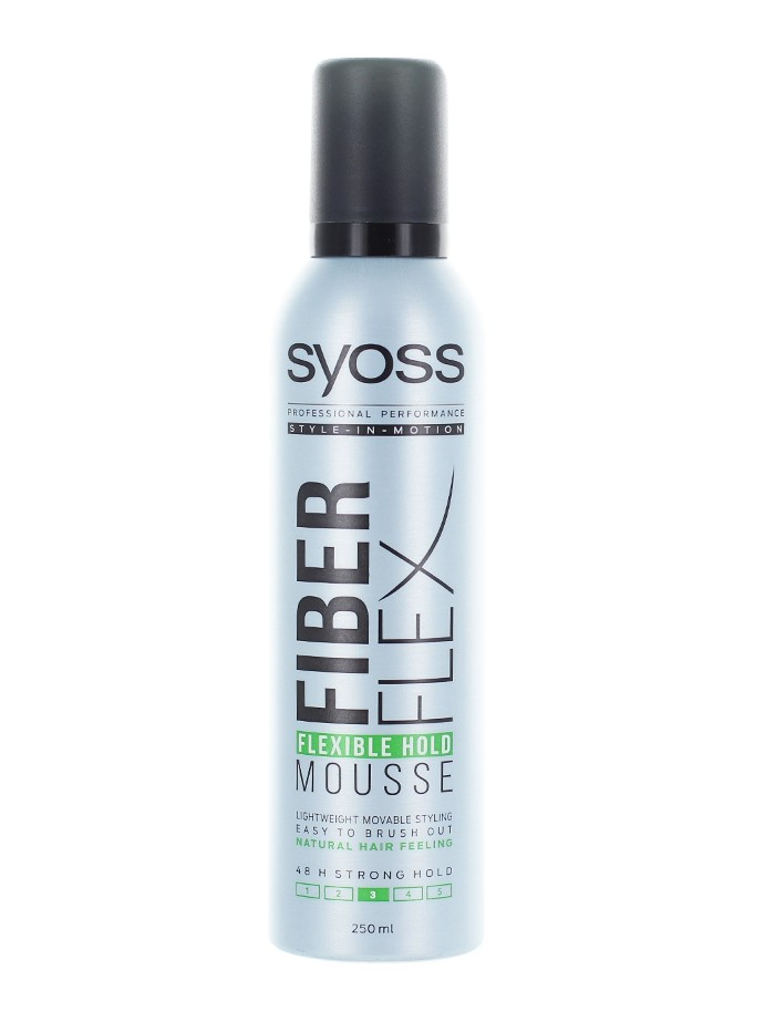 Syoss Spuma de par 250 ml Fiber Flex nr.3