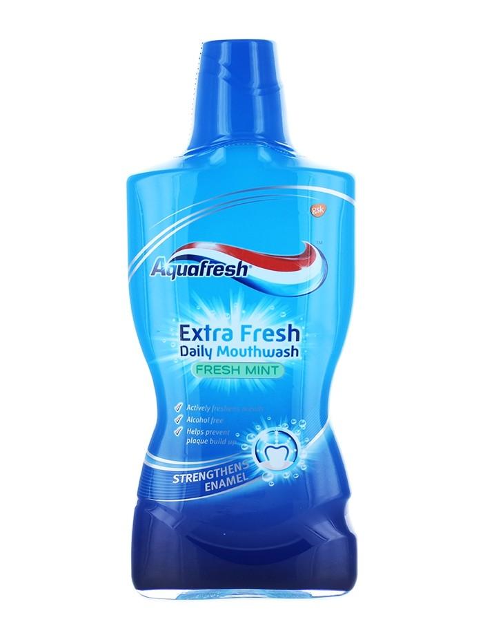 Aquafresh Apa de gura 500 ml Extra Fresh imagine produs