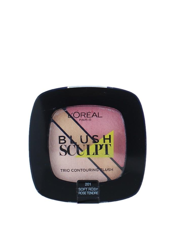 L'oreal Fard obraz Blush Sculpt Nr:201 Soft Rosy