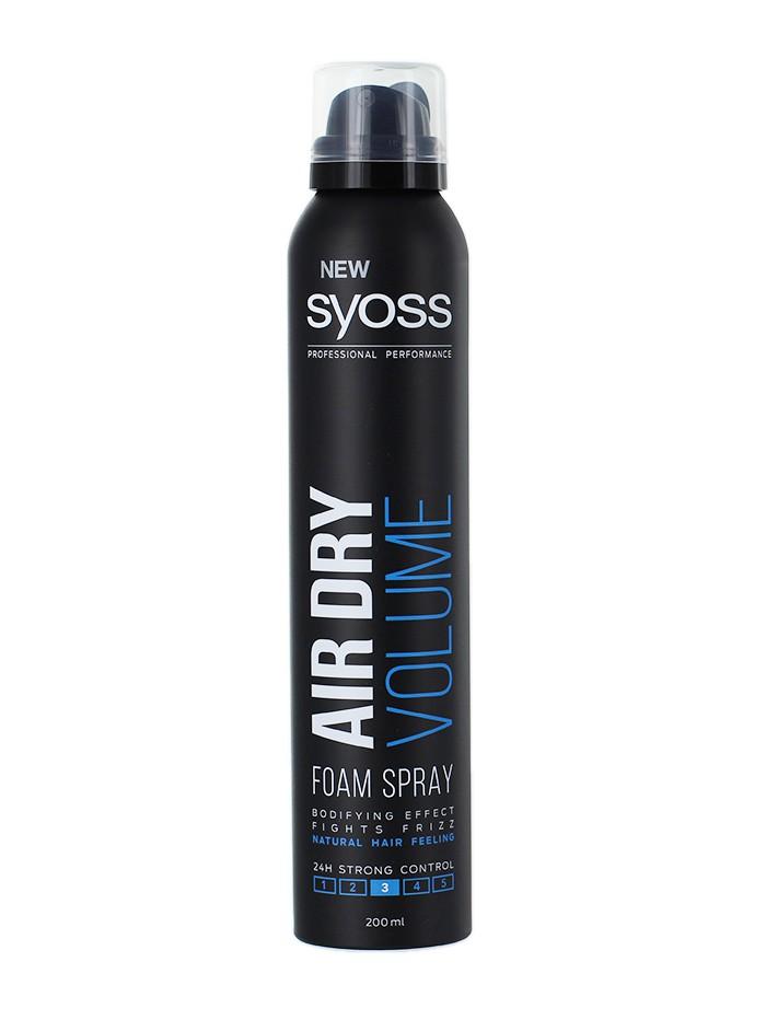 Syoss Spuma de par 200 ml Air Dry Volume 3