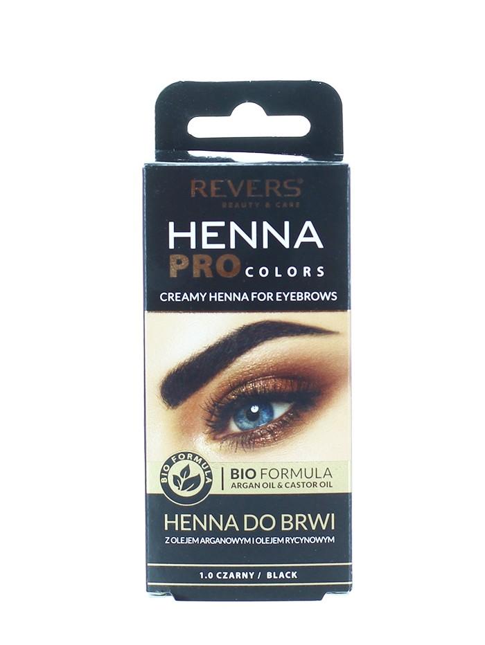 Revers Henna pentru sprancene 15 ml Negru imagine produs