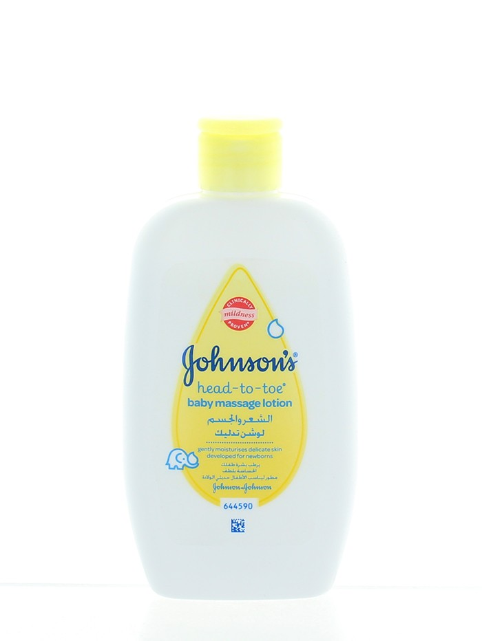 Johnson's Baby Lotiune de corp pentru masaj 200 ml Top-To-Toe imagine
