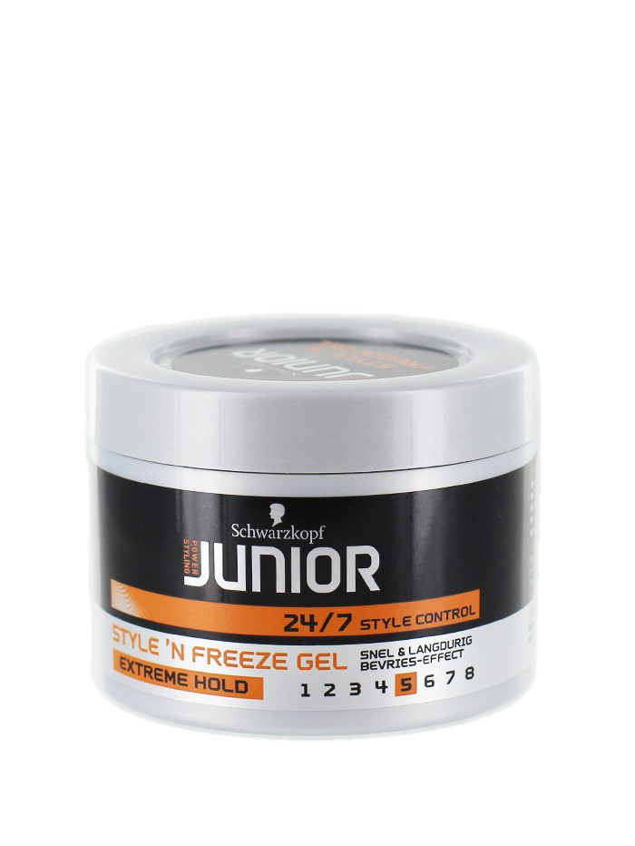 Schwarzkopf Junior Gel de par 200 ml NR:5 Extreme Hold imagine produs