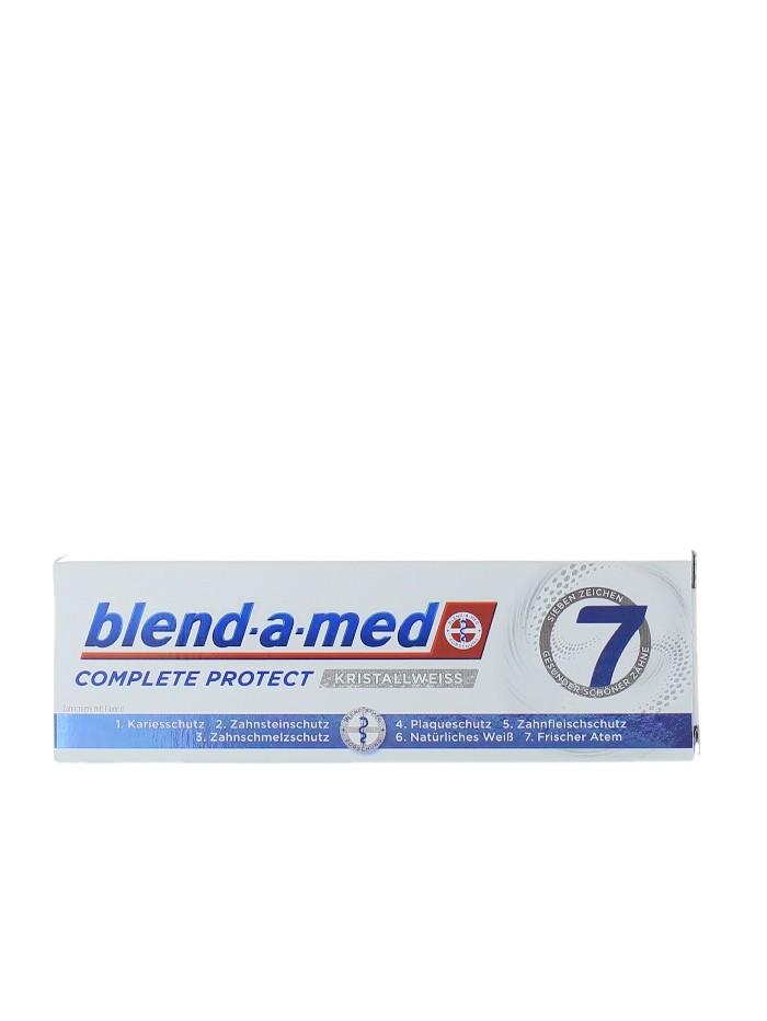 Blend-a-med Pasta de dinti 75 ml Complete Protect Kristallweiss imagine produs