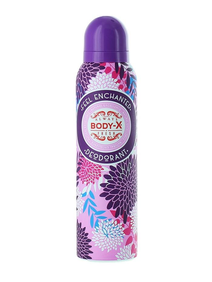Body-X Spray Deodorant femei 150 ml Feel Enchanted imagine produs