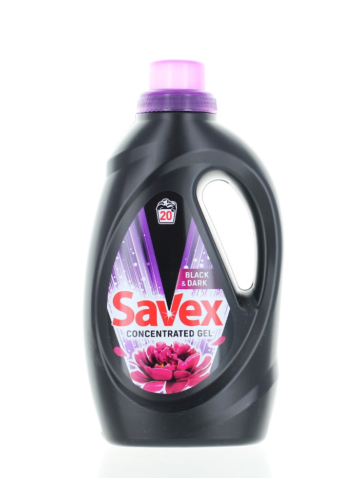 Savex Detergent lichid 1.1 L 20 spalari Black imagine produs