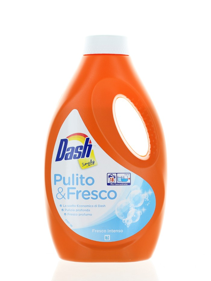 Dash Detergent lichid 990 ml 18 spalari Fresco Intenso imagine produs