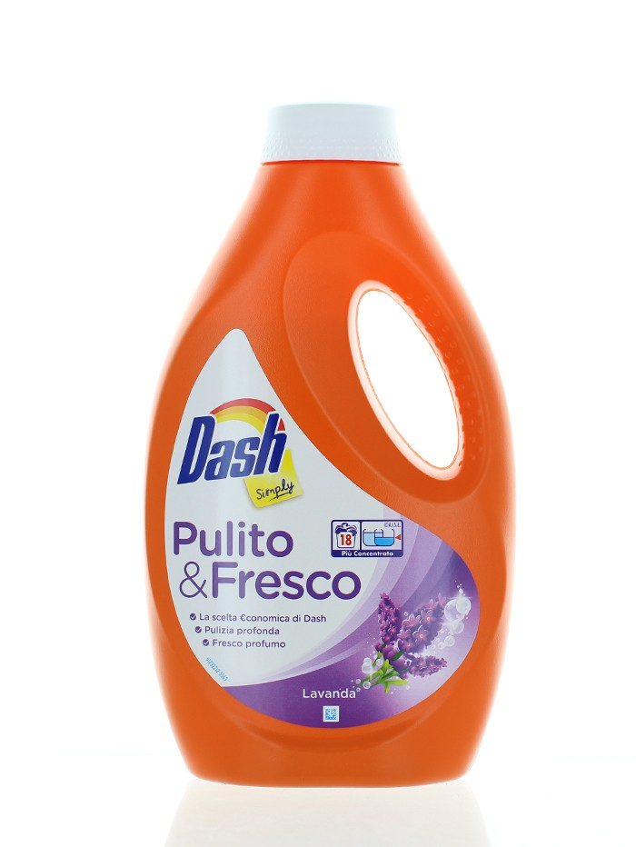 Dash Detergent lichid 990 ml 18 spalari Lavanda imagine produs